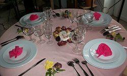 Une table pour la fête des mères pour Question, Info