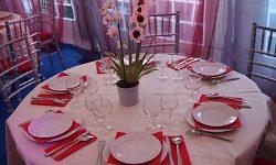 Une table pour un mariage pour Question, Info